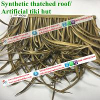 wholesale plastic palm artificial synthetic palm thatch construction theming materials
