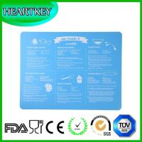 Wholesale Custom Logo Artisan Non-stick Silicone Baking Mat - 2 Pack Set from china suppliers