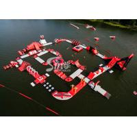 Wholesale Custom Deisgn Giant Floating Island Inflatable Water Park for Inflatable Aqua Park Fun from china suppliers