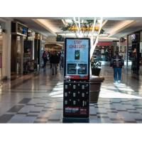43 Inch Adversting Digital Signage Kiosk Machine Mobile Cell Phone Charging Station