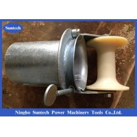 Wholesale Bell Mounth Underground 100mm Steel Cable Roller With Nylon Roller from china suppliers