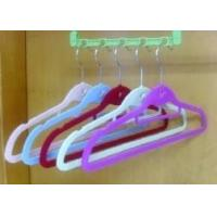 Wholesale Plastic Clothes Hangers, Velvet Clothes Hangers (LD-F012) from china suppliers