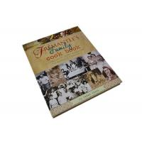 Quality CE Custom Cookbook Printing Services Full Color Hardcover Recipes Book Print for sale