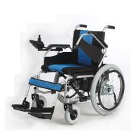 China Liquid Painted Steel Indoor Power Wheelchair , Collapsible Electric Wheelchair on sale
