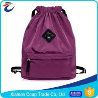 Wholesale Large Capacity Coloured Drawstring Bags / Outdoor Travel Backpack Sports Gym Bag from china suppliers