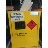 Buy cheap Mini Steel Flame Proof Safety Storage Cabinets With Single Door from wholesalers