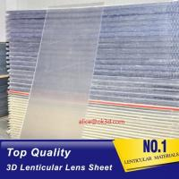 Wholesale PS material Lenticular Sheet 120x240 25 lpi 4mm 3d lenticular sheet lenticular plates materials with lenticular effects from china suppliers