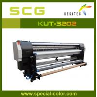 Wholesale 3.2 meter Uv printer. uv roll to roll printer for all soft materials KUR-3202.UV ink from china suppliers