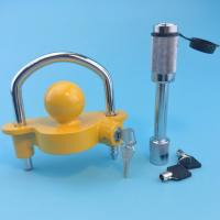 Wholesale Trailer hitch lock 1-7/8'', 2'' and 2-5/16'' all purpose Adaptable type from china suppliers