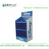 Buy cheap 3 Tiers Cardboard Display Rack , Shop Retail Product Promotional Display Stands from wholesalers