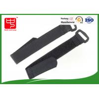 China Adjustable Solid Hook and Loop Straps With Plastic Buckle Banding Goods on sale