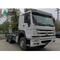 Wholesale SINOTRUK Howo 6x4 Prime Mover Tractor Truck 371 and 420hp for Your Requests from china suppliers