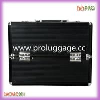 Wholesale Large volume cosmetic train cases with brush holder box (SACMC001) from china suppliers