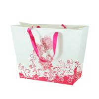 Wholesale Spot - UV, embossing, matte lamination Printed Paper Carrier Bags by 250gsm coated paper from china suppliers