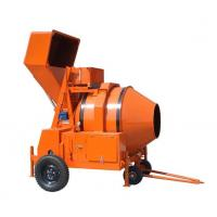 Wholesale Diesel Engine Powered Concrete Mixer Machine / Reverse Drum Mobile Concrete Mixer Trailer from china suppliers