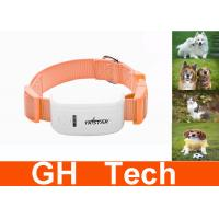 Wholesale Quad Band GSM Dog Collar GPS Locator , Waterproof Mini GPS Dog Collar from china suppliers