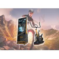 Indoor Playgrounds VR Bike Ride , Leke X-Rider Virtual Reality Exercise Equipment