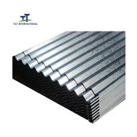 Wholesale Beautiful Appearance Galvanised Corrugated Roofing Sheets Metallic Color Fast Construction from china suppliers