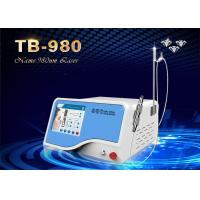 China High Frequency 980nm Diode Portable Laser Vascular Spider Vein Removal Machine wholesale