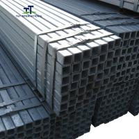 Wholesale Thin Wall Galvanized Steel Square Tubing Non Alloy Condition New Seamless from china suppliers