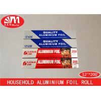 Wholesale OEM All Kinds Aluminium Foil Paper Roll 12IN X 15 Micron X 200Ft  200SQFT Size from china suppliers