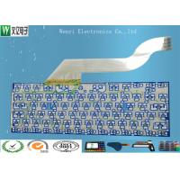 Wholesale Keyboard Membrane Switch Multilayer Flexible Circuits , 2 Layers Fpc Flex Circuit Board from china suppliers