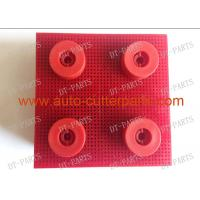 Wholesale Red Auto Cutter Bristle Nylon Bristle With Round Foot 130297 For  Vector 5000 Cutter Parts from china suppliers