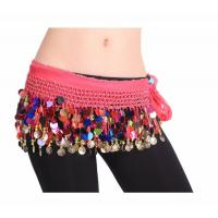how to tie a belly dance hip scarf