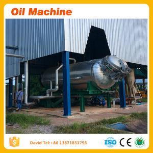 Crude palm oil refining process