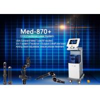 Quality Co2 Fractional Laser Machine Wavelength 10600 nm Rated Power 800 Watt Net Weight 52 Kgs for sale