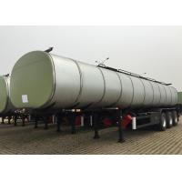 Wholesale 36000L Carbon Steel Insulated Tanker Trailers 3 Axles For Palm Oil Delivery from china suppliers