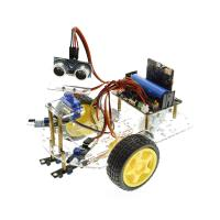 Buy cheap Multi - Function Robot Car Kits Ultrasonic Sensor Assembly With Tutorial from wholesalers