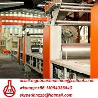 Wholesale Fully Automatic Fire Resistant Mgo Slab / Magnesium Oxide Board Production Line from china suppliers