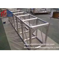 Wholesale Light Weight Aluminum Stage Truss , Square Lighting Truss Bar For Rental Event from china suppliers