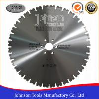 Wholesale 600mm Laser Welded Wall Saw Diamond Blade for Reinforced Concrete Cutting from china suppliers