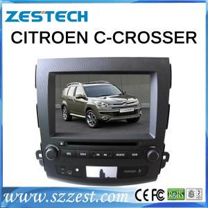 Wholesale ZESTECH lastest 2014 Double-Din Receivers car DVD for Citroen c-crosser OEM car Units car pc gps from china suppliers