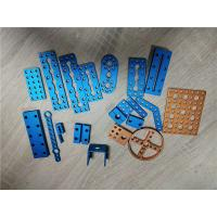 Wholesale Aluminum Metal Stamping And Drilling Brushed Hinge Process With Hard Anodized Color from china suppliers