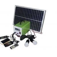 Wholesale USB Cable Home Solar Power System , Portable Solar Powered GeneratorFor Travel from china suppliers