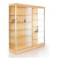 solid back wall showcase cabinet retail glass display cabinets for rh metalmachiningparts suppliers howtoaddlikebut