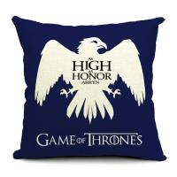 18 square game of thrones cotton linen cushion cover sofa decorative throw pillow cushion of. Black Bedroom Furniture Sets. Home Design Ideas
