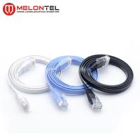 Wholesale Colourful RJ45 Network Patch Cord  MT 5004 , Cat6 Flat LAN Patch Cord With Boot from china suppliers