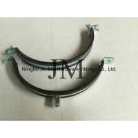 Wholesale EPDM Rubber Heavy Duty Pipe Clamps Pipe Fixation With Zinc Plating Surface from china suppliers