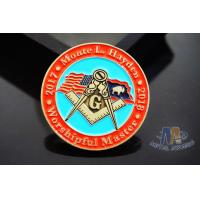 China Lightweight Coast Guard Challenge Coins , Personalized Military Coins Eco Friendly on sale