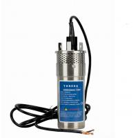 Wholesale Stainless Steel Dc Submersible Pump , High Pressure Water Pump Corrosion Proof Housing from china suppliers