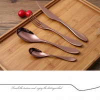 Wholesale SS430 Polished Antibacterial 4pcs Antique 1810 Stainless Steel Flatware from china suppliers