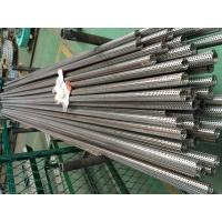 Straight Seam Water 304 Perforated Metal Welded Tubes Fiter Element Air Center Core Filter