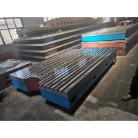 Buy cheap Cast Iron Inspection Working Plate with T-Slot from wholesalers