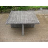 CA1017 wicker dining set with nesting ottoman outdoor
