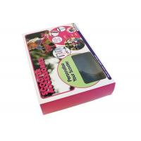 Wholesale 4C Printing Gift Clear Plastic Boxes / PVC Box Packaging For Gifts from china suppliers