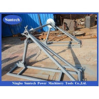Wholesale 70 KN Underground Cable Reel Stand For Stringing Construction from china suppliers